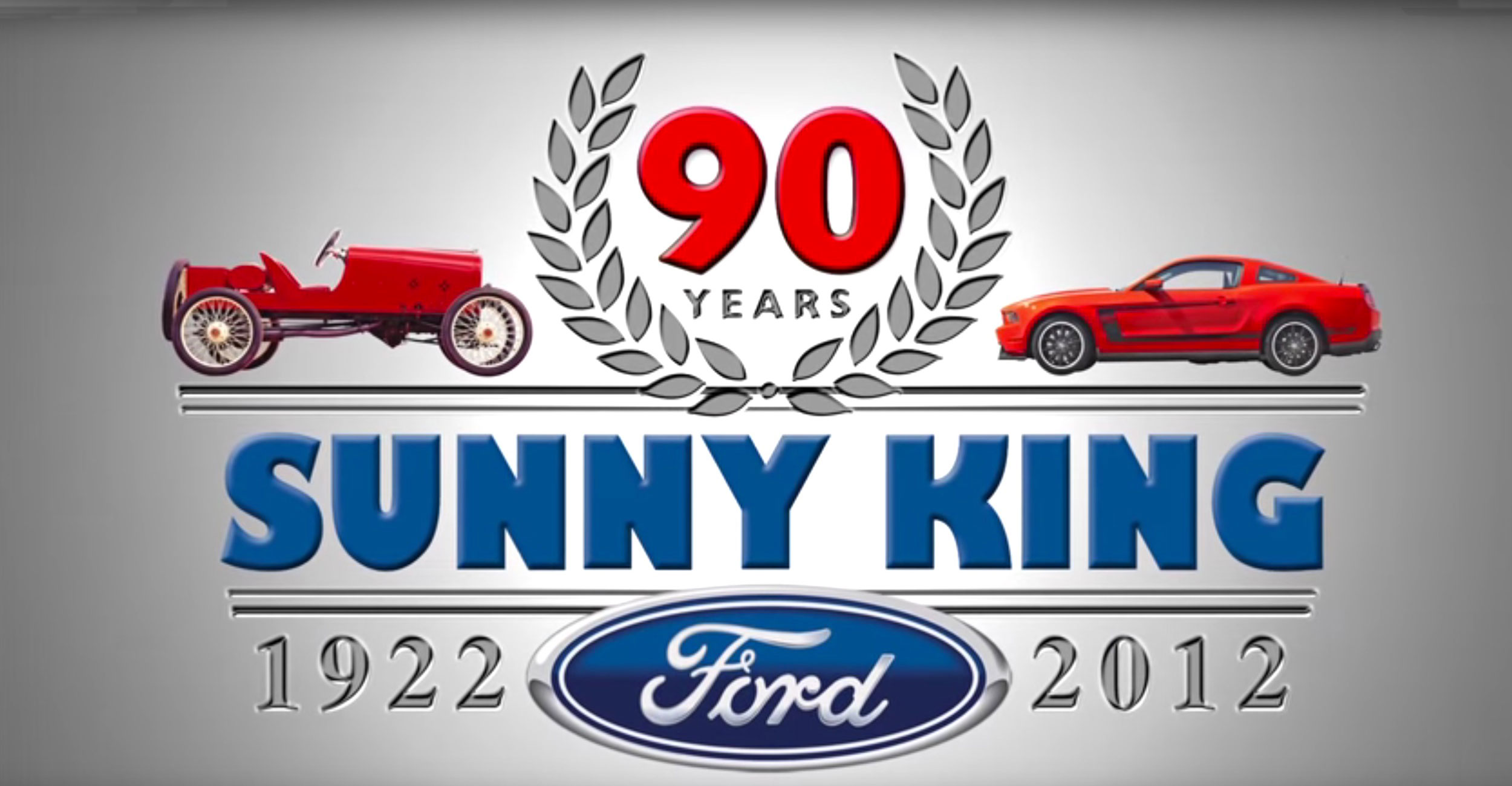 Sunny King Ford 90th Anniversary