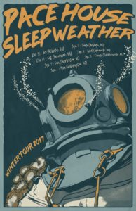 Pace House Sleep Weather Winter Tour 2017